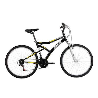 Bicicleta Caloi Aro 26 - 21 Marchas Andes Mountain Bike