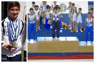 Πανελλήνια Διάκριση σε αγώνες Ενόργανης Γυμναστικής