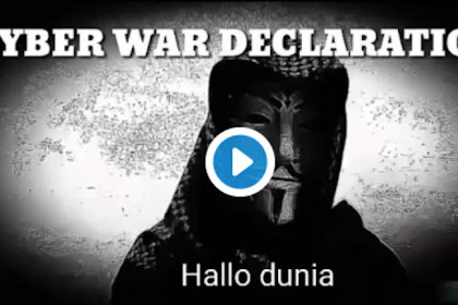 Jengkel Dengan Tuduhan Polisi & Media Indonesia Penyebar Chat HRS-FH, Anonymous Dunia Tabuh Genderang Perang