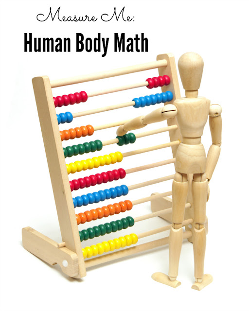 Human Body Math: Practice measuring and comparing lengths