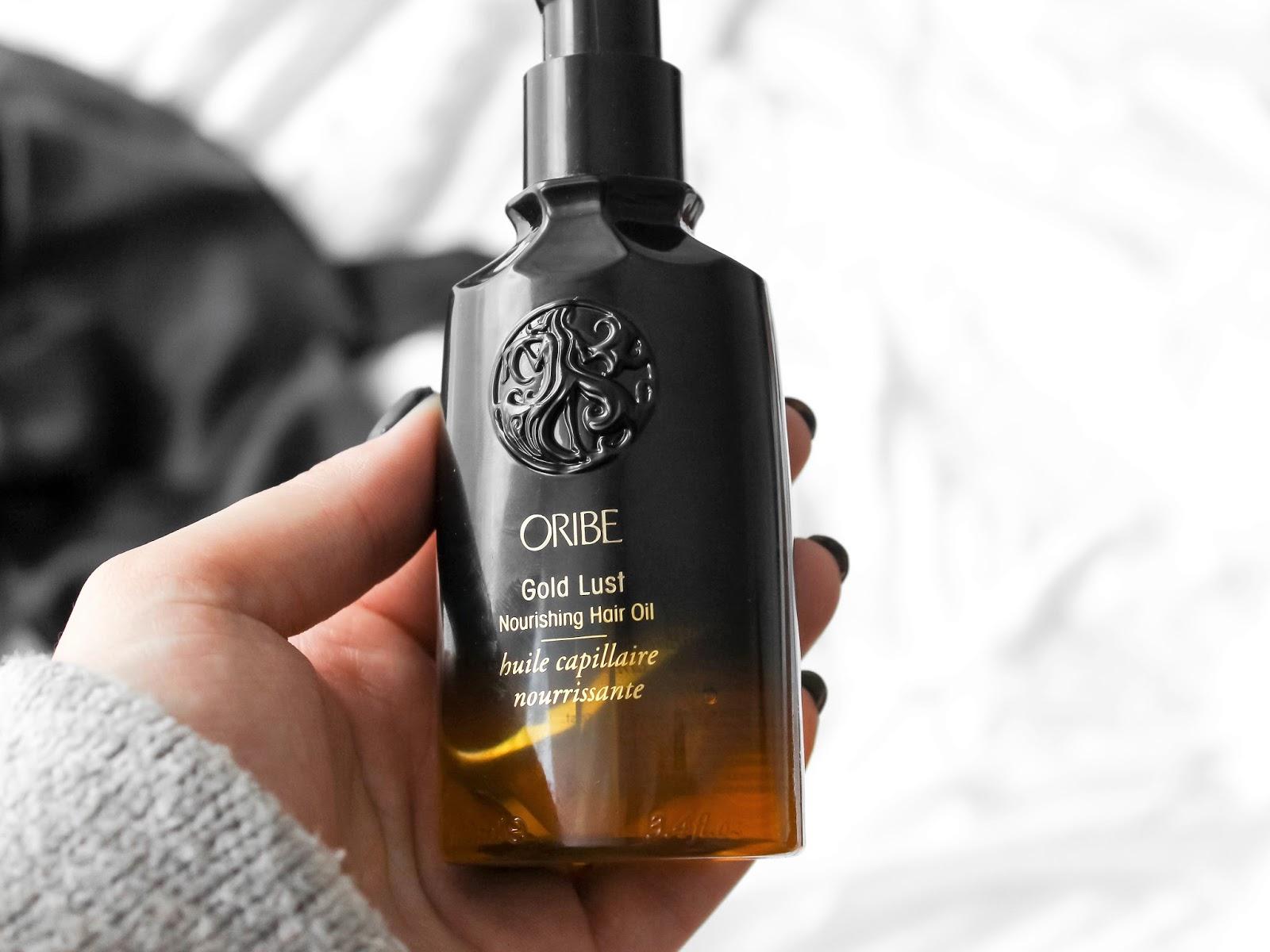 oribe gold lust vlasový olej
