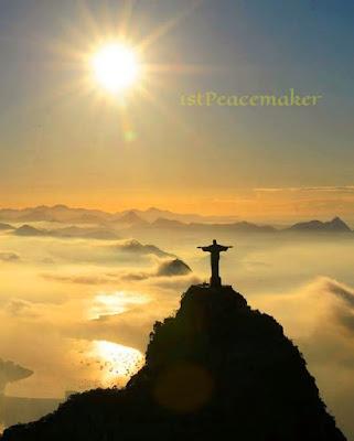 Christ the Redeemer statue, Rio de Janeiro with #1stpeacemaker