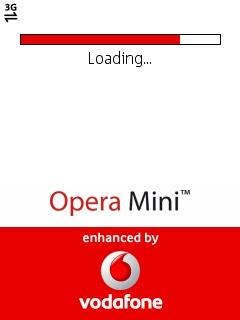 Opera Mini 5 1 Enhanced-by-Vodafone and Opera Mini 4 3