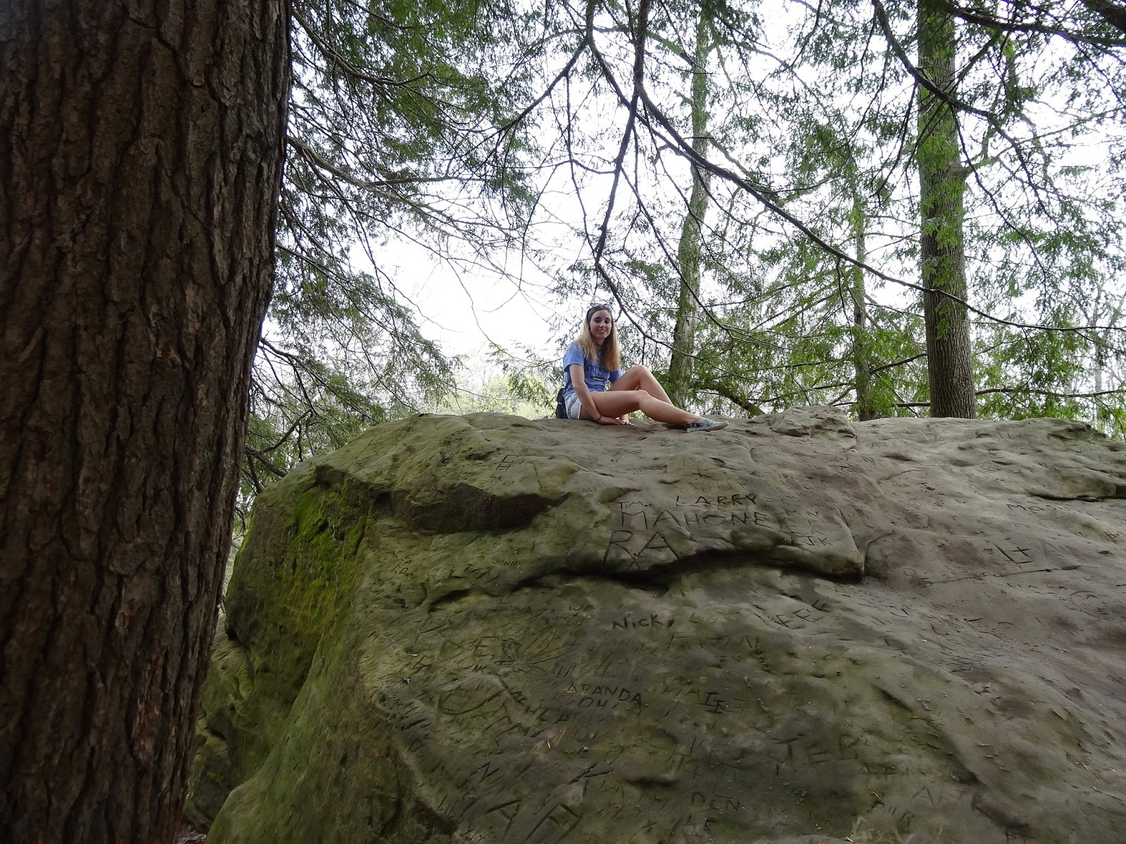 Me on a rock