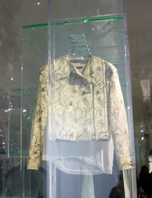 Jacket A/W 2015 , Louis Vuitton Series 3 Exhibition | Petite Silver Vixen