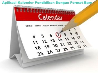 Aplikasi Kalender Pendidikan Dengan Format Baru