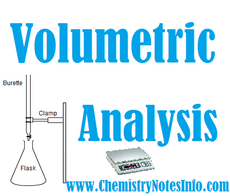 Volumetric Analysis - Chemistry Formula - Volumetric Titration