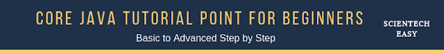 Basic Core Java Tutorial Point Step By Step