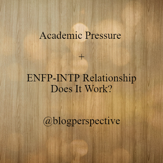 All That Comes To Mind (25) : Academic Pressure