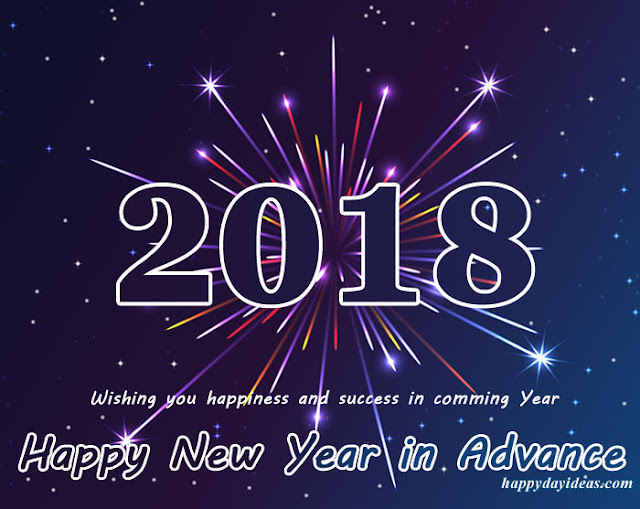 advance happy new year 2018 dp