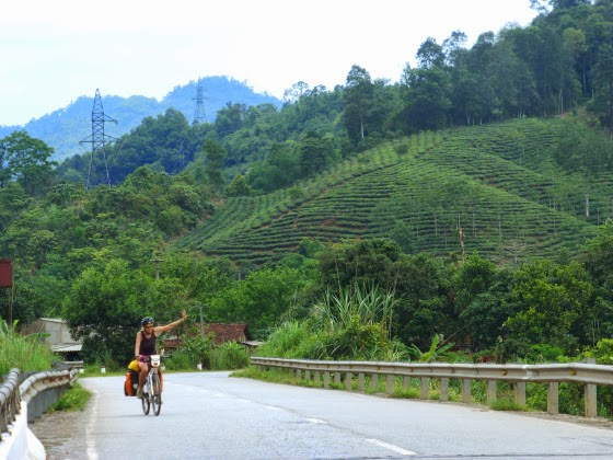 Biking Northern Vietnam