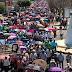 Unos 20 mil docentes de la CNTE Marcha de manera pacífica en Tuxtla Gutiérrez en el marco del día del maestros