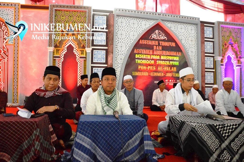 Dihadapan Ribuan Jamaah, Gus Romi Didoakan jadi Wapres Jokowi