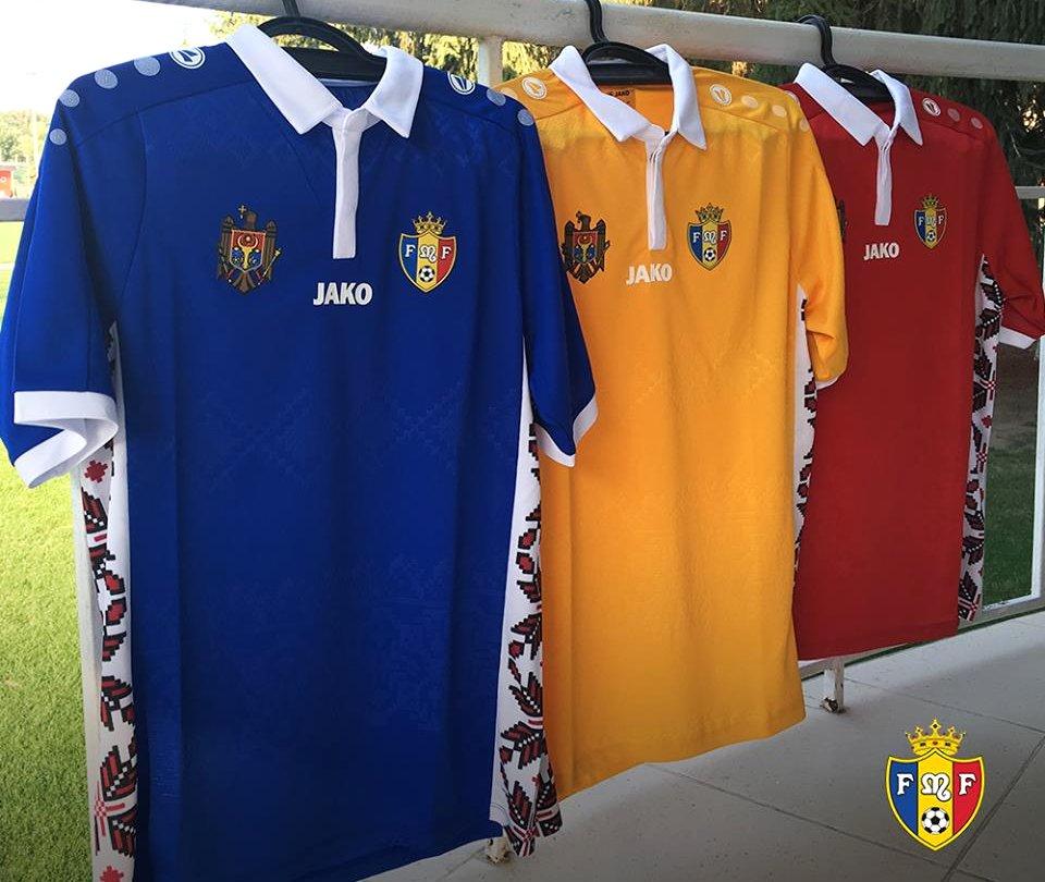 6a256ab42e Jako divulga as novas camisas da Moldávia - Show de Camisas