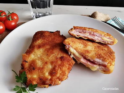 Libritos caseros de lomo, bacon y queso