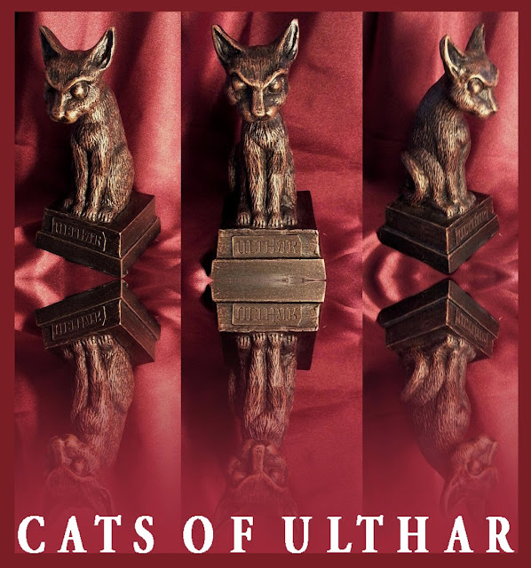 Cats Of Ulthar Statue For Sale