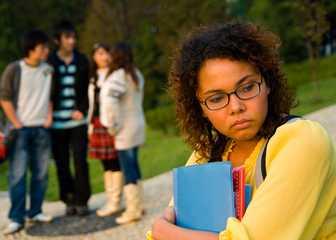 Ser desplazada en el colegio