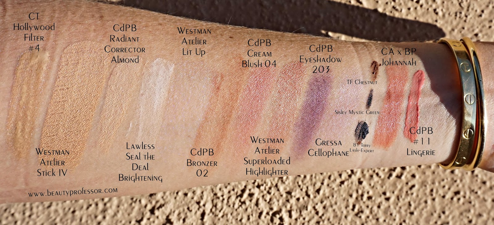 westman atelier foundation swatches