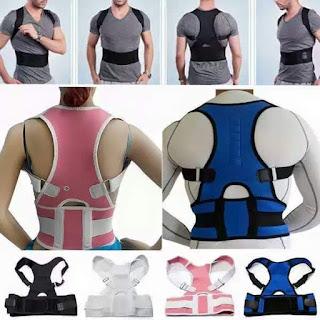 Adjustable Posture Corrector Back Support Belt - Personal Care