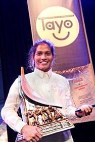 Siargao surfers win Coca-Cola Barkada Award for instilling value of education, environmental protection