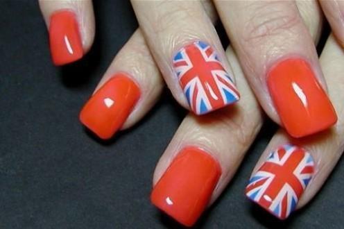 London Olympics 2012 Nail Art Designs