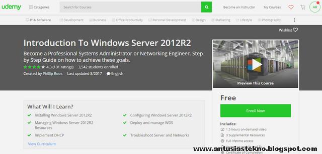 Kursus Introduction To Windows Server 2012R2