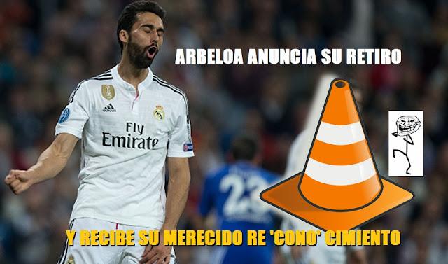 Arbeloa se retira del fútbol y recibe su merecido reconocimento
