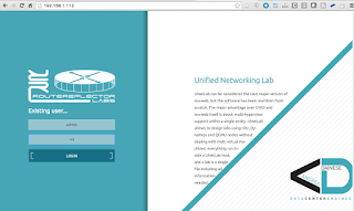 UNetLab first steps