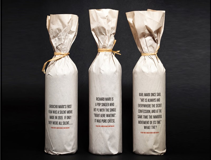 Tendencias en packaging de vino, Marx Wine