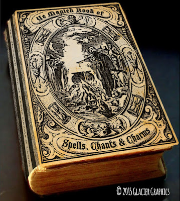 Old Vintage Designs: Free Public Domain Magic Spell Book Clipart