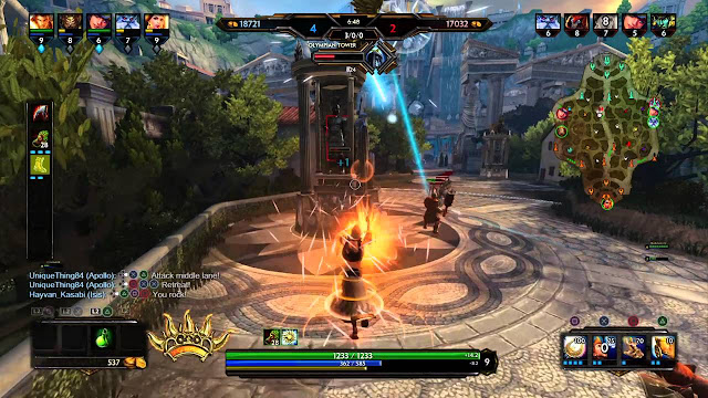 Smite PlayStation 4