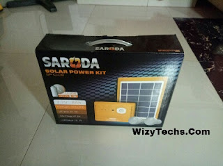 SARODA Solar Power Bank carton