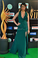 Laxmi Rai in a Deep neck Beautiful Green Gown Cute Actress Laxmi Rai ~  003.JPG