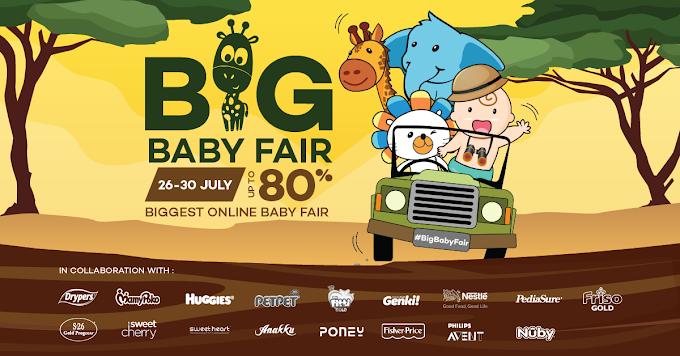Dapatkan Huggies Dry Pants Murah di Lazada Big Baby Fair