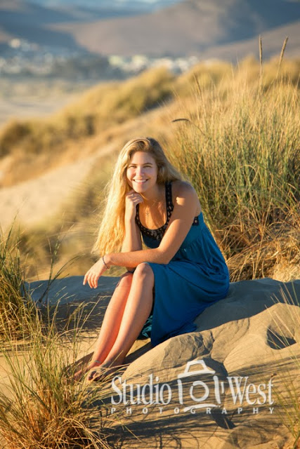 beach portraits - senior portrait - atascadero - studio 101 west photography - morro bay senior
