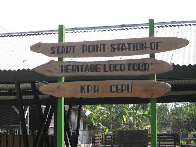 Hutan Jati Cepu dan Loko Tua