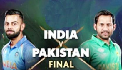India vs pak cricket live streaming champions trophy final match 2017