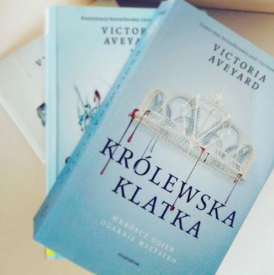 [Przedpremierowo]: Królewska Klatka - Victoria Aveyard