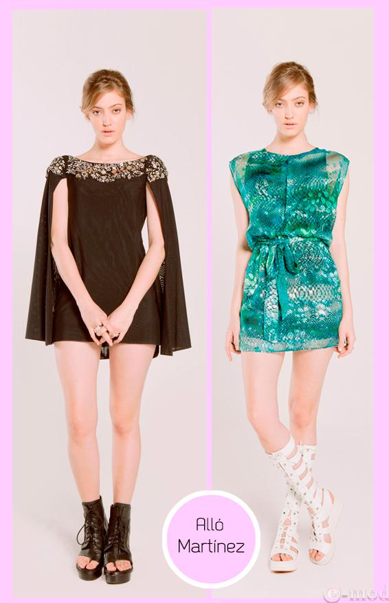 Vestidos de fiesta cortos de la ostia