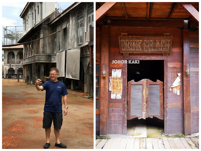 Set of HBO Asia Series Grisse at Infinite Studios in Batam