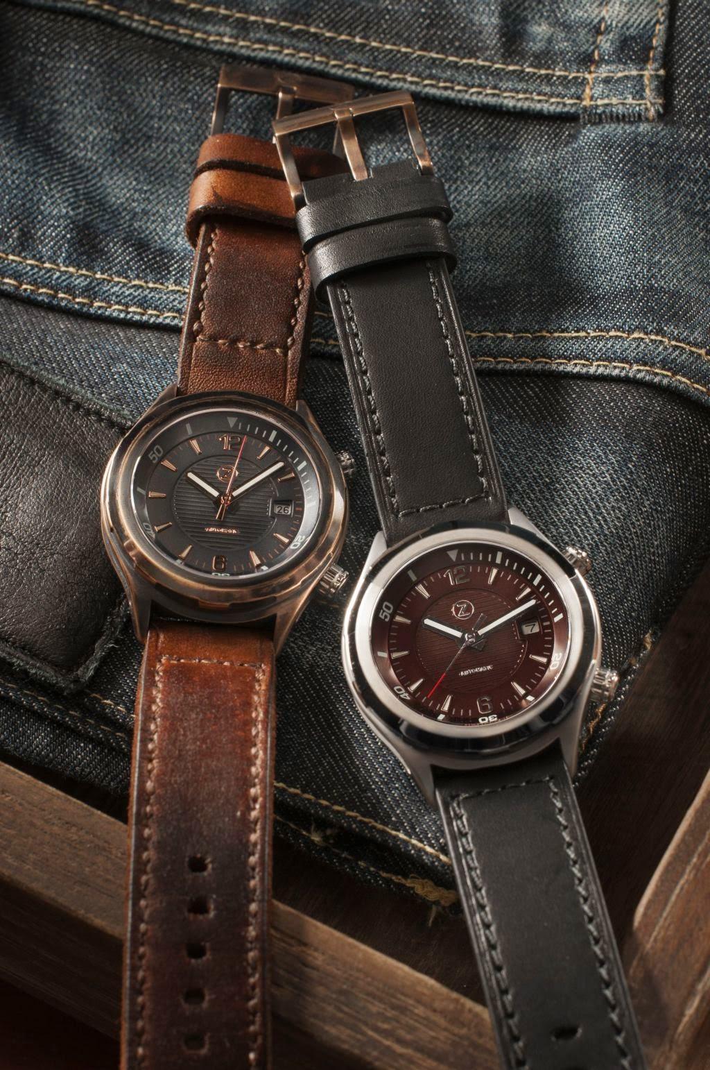 Zelos Helmsman automatic watch