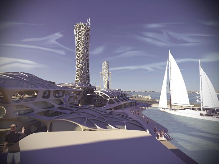 3D Printed Building