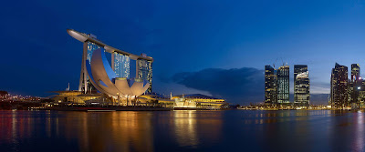 Marina Bay Sands Resort di Singapore
