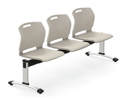 3 person reception bench