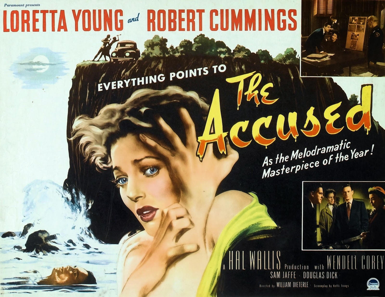 sicko psychotic the accused 1949 theatre and vampira often acquired mystery and suspense films as fillers the accused was one such feature and appeared on murder before midnight in