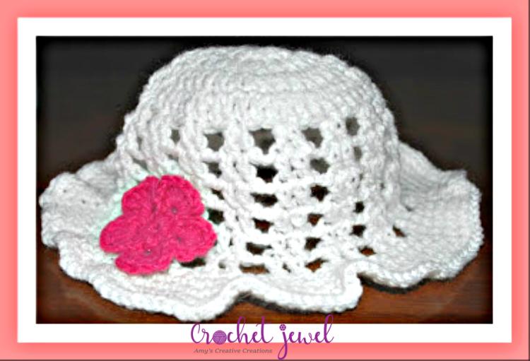 Amys Crochet Creative Creations Crochet Floppy Sun Hat