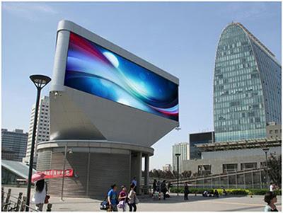 màn hình led p10 sử dụng ngoài trời