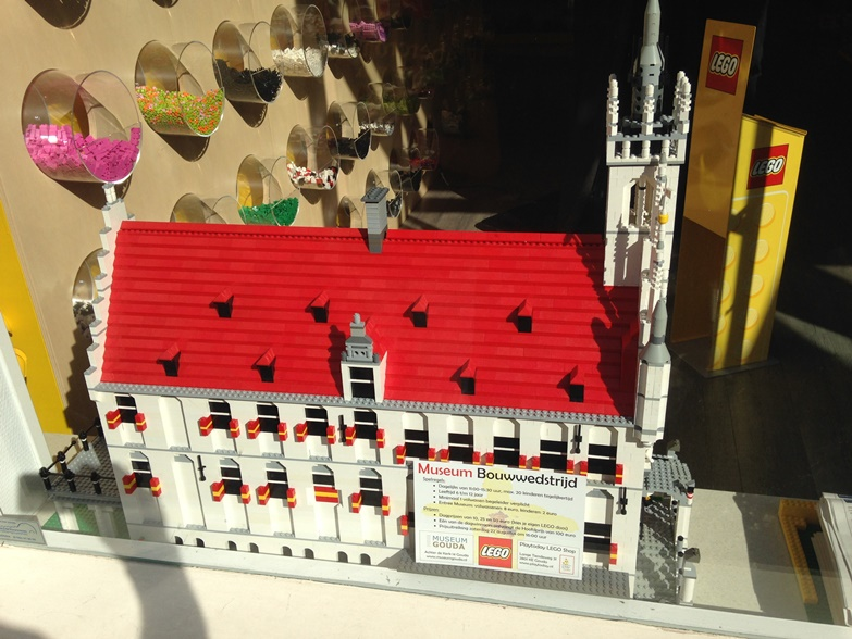 lego store in gouda - de keizer instore creations