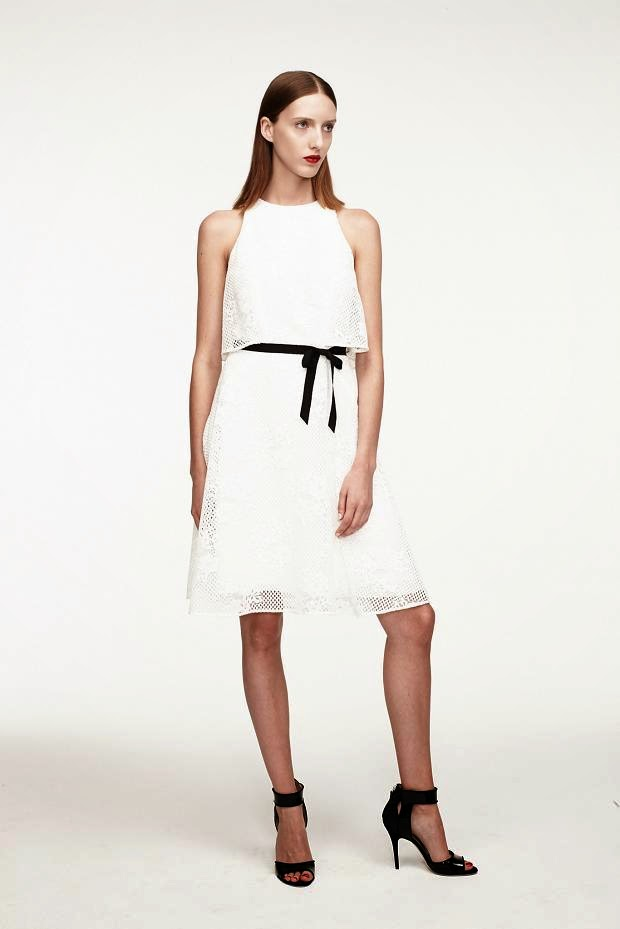Fashion Runway : Monique Lhuillier Resort 2015 look book