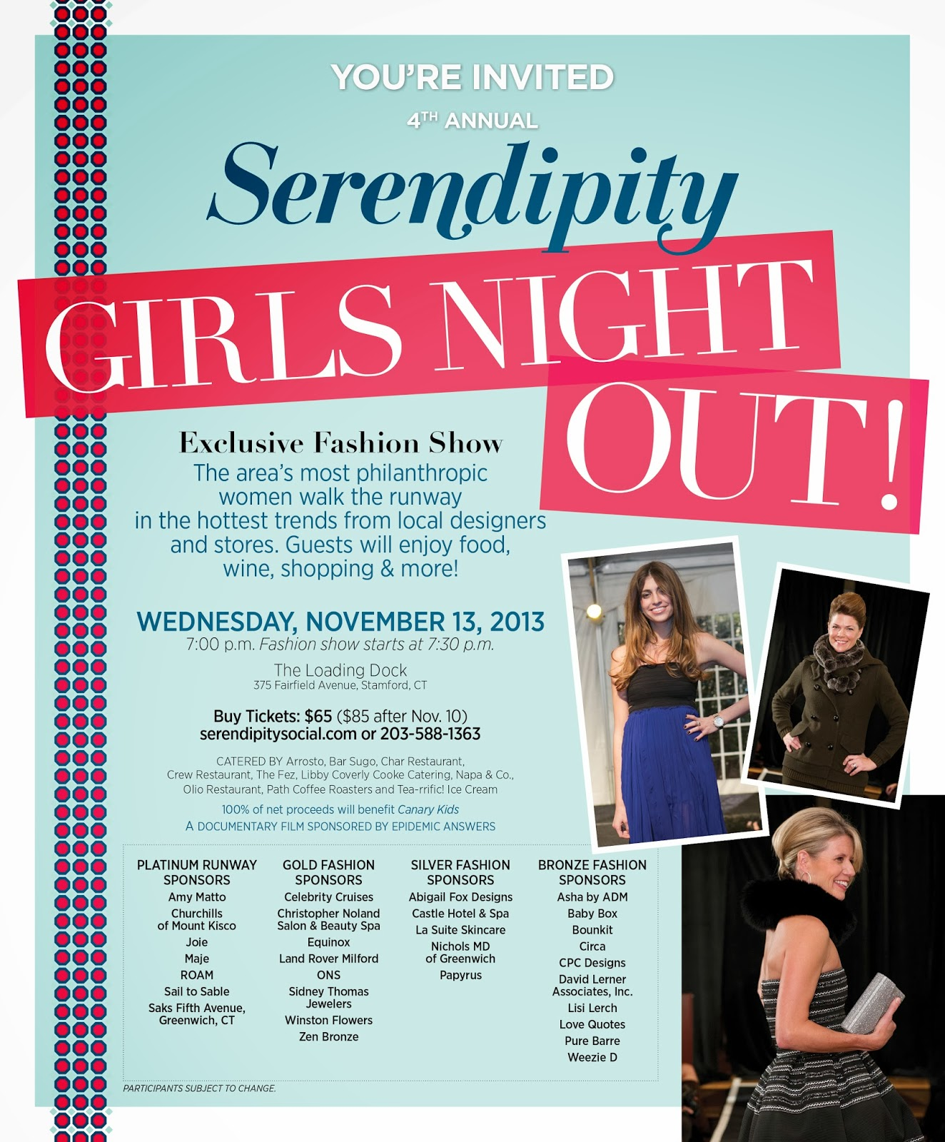 Wee Care Nanny Agency: Girls Night Out Exclusive Fashion Show to